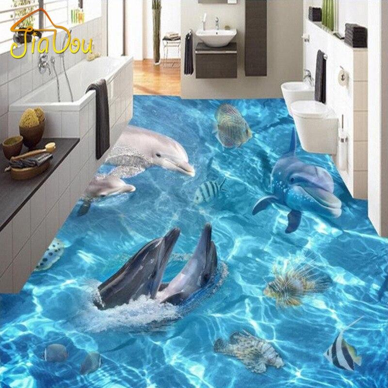 aliexpress   buy custom 3d floor wallpaper ocean world