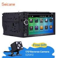 Seicane 2 Din Android 6 0 Universal Car Radio GPS Navigation DVD Player 1080P Video Bluetooth