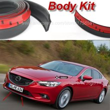 Для Mazda 6 M6 MPS для Mazda 6 Atenza автомобильный бампер для губ/передний спойлер дефлектор Тюнинг автомобиля/обвес/полоса юбка