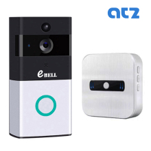 ATZ DBV08P WIFI Video Intercom Doorbell Support Battery Support 32G Memory Card 720P PIR Outdoor IP Camera Wireless Indoor Bell