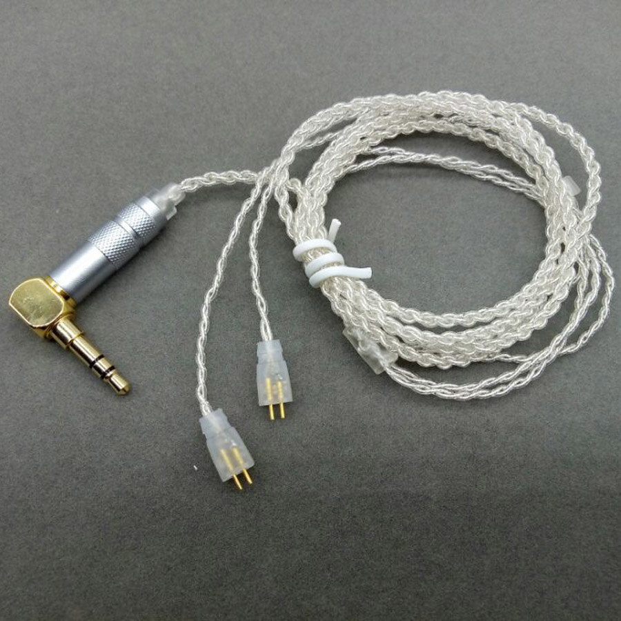 Upgraded Replacement Cable for Logitech Earphones UE TF10 TF15 5pro SF3 Port HIFI Sports Headset Wire for iphone 7 xiaomi MP3