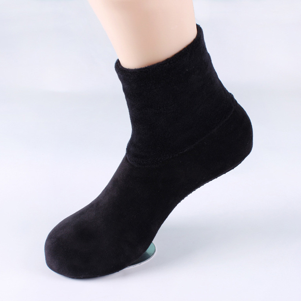 Women Ladies Winter Warm Thicke Home Bed Sock Non Slip Elastic Floor Socks Slipper Casual Fashion  2018 sock