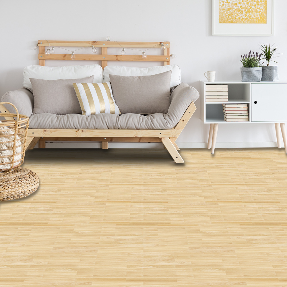 Thicking PVC Waterproof Wood Grain Self Adhesive Floor Sticker For Bedroom Bathroom Ground Tile Stickers Wallpaper Home Decor