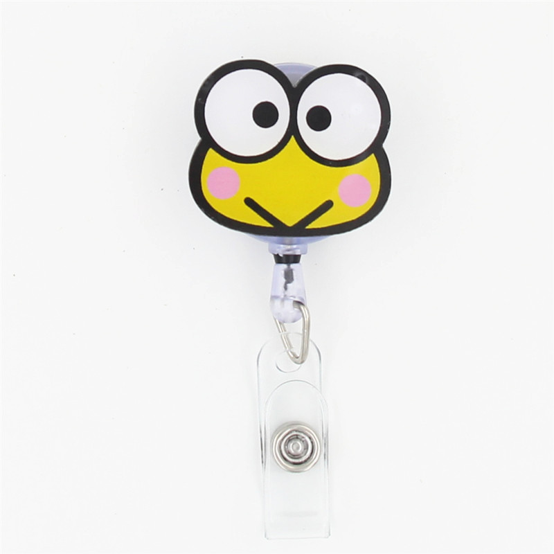 1pcs Fashion Cartoon Characters Retractable Badge Reel Student Nurse ...