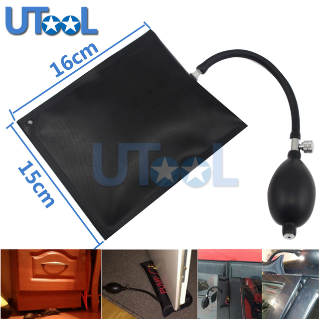UTOOL Multifunction Pump Wedge Locksmith Tool Auto Air Wedge Airbag Lock Pick Set Open Car Door Lock