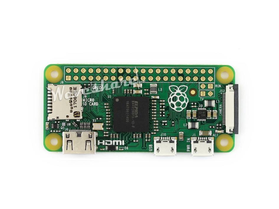Raspberry Pi Zéro V1.3 1 GHz ARM11 512 MB RAM faible-coût épuré Framboise Pi avec CSI Caméra Connecteur demi taille de un Modèle A +