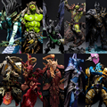 Wow Arthas Menethil The Lich King illidan Stormrage Deathwing Sylvanas vashj Priestess action Figure Collection Model