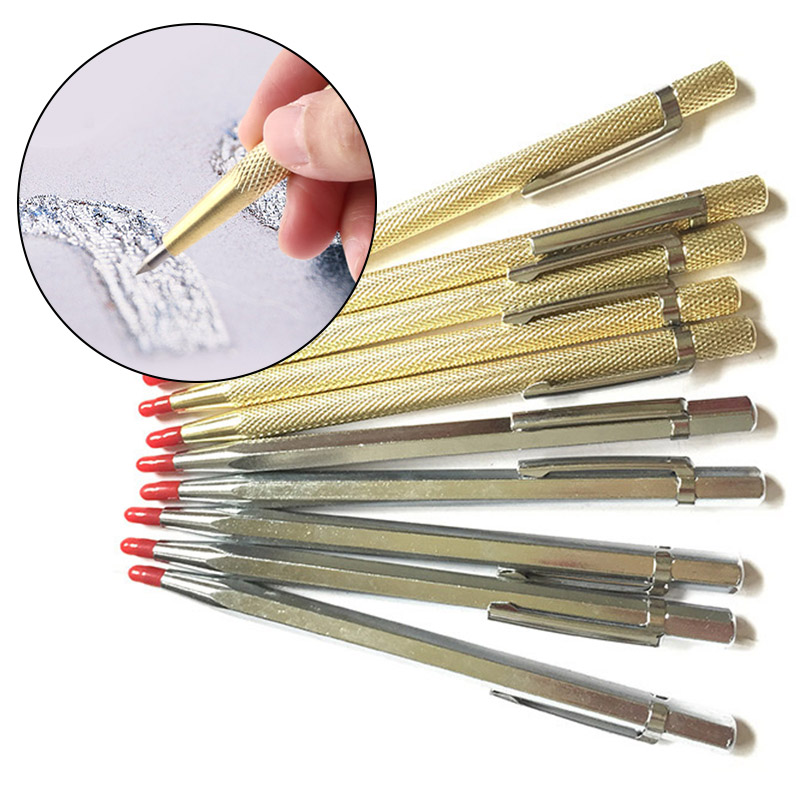 New 14.5cm Engraving Pen Tungsten Carbide Tip Metal Ceramic Engraver Scribe Tool