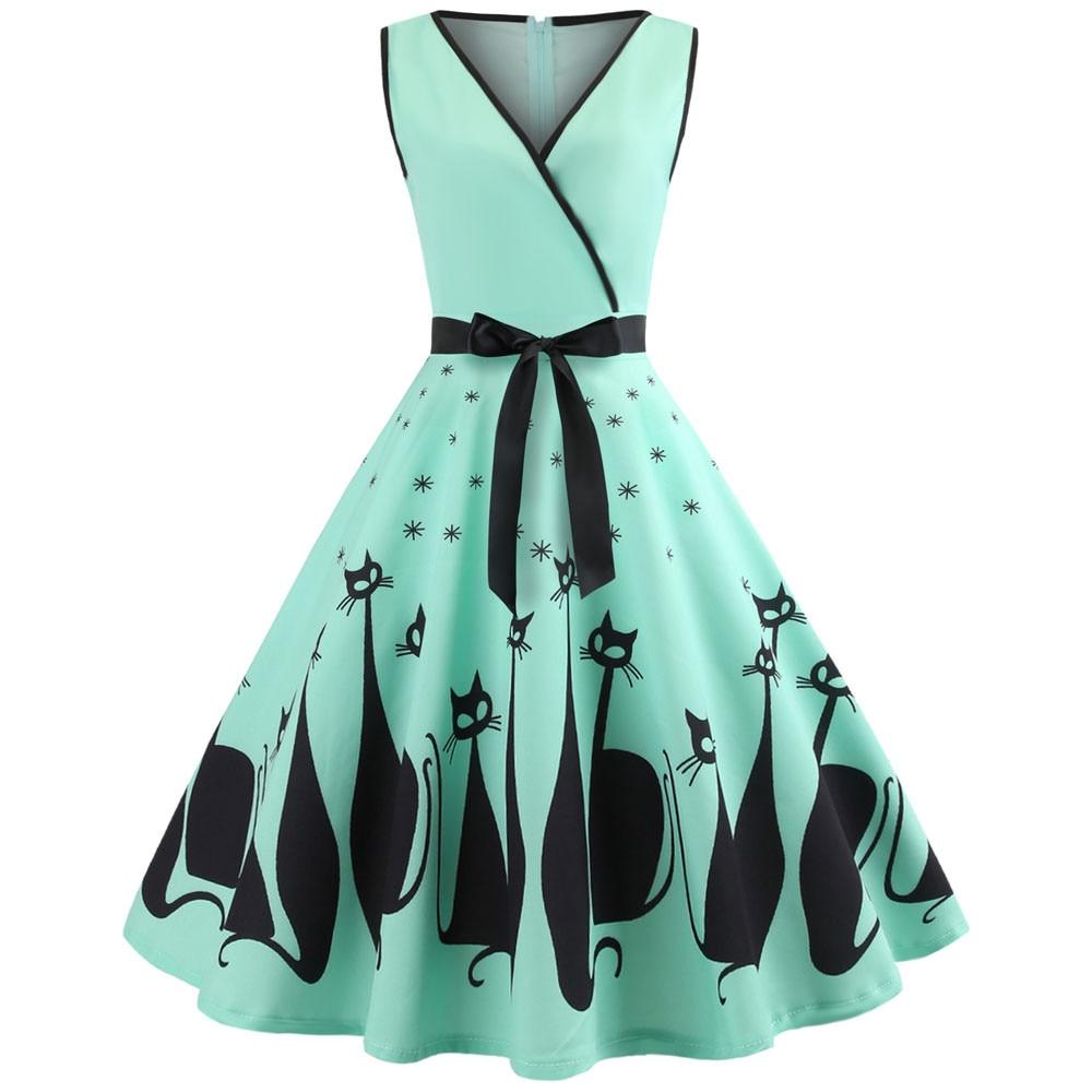 best woman long dress cat ideas and get free shipping - 27kd8bmen