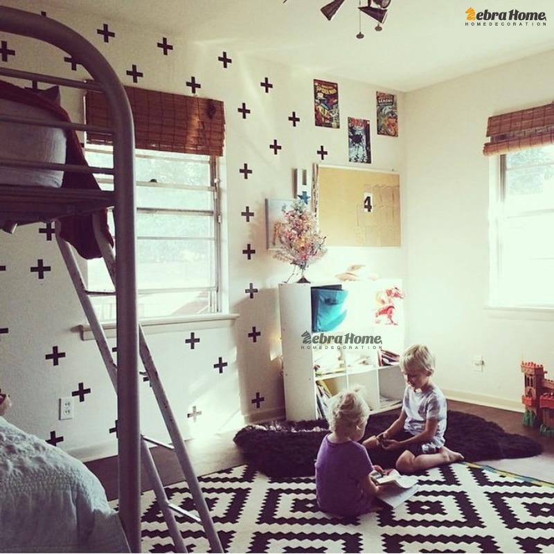 Φ_Φكورس diy إزالة ملصقات الحائط صائق حضانة بيبى غرف نوم تزيين