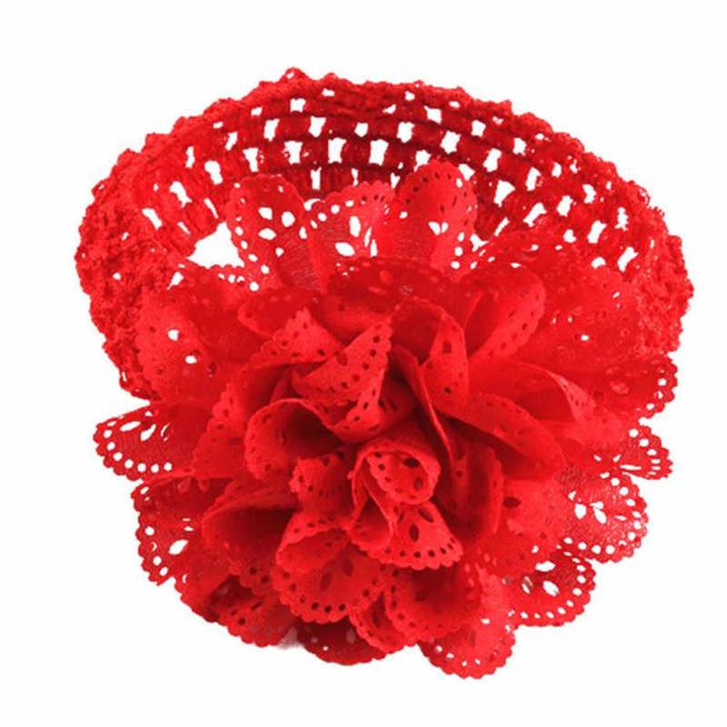 Новые модные повязки на голову для девочек Кружевная повязка для волос платье с повязкой Эластичная головная повязка повязки для волос Haar аксессуары