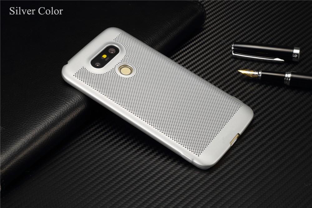 Luksusowa marka ultra thin Nowy siatka powrót pokrywy skrzynka dla LG przypadkach i pokrowce na g5 G5 oryginalne akcesoria 10