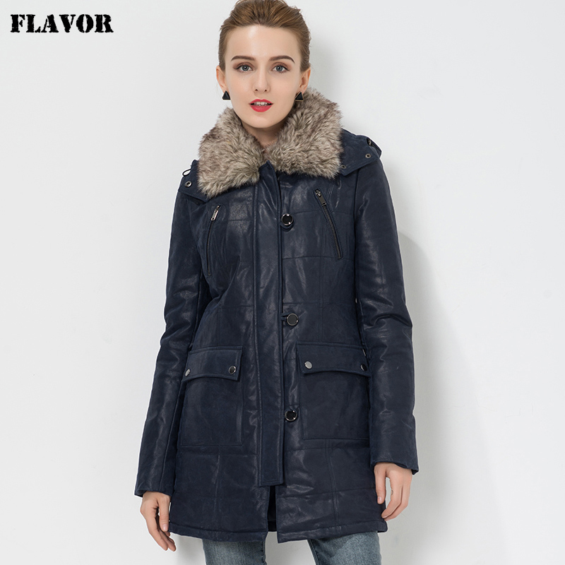 S 4XL Women s Pigskin real leather jacket Genuine Leather trench coat jacket overcoat women outwear