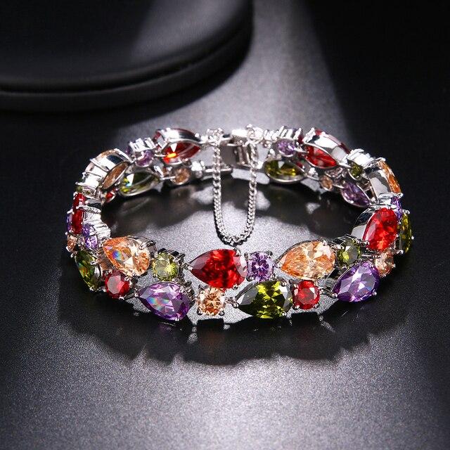 hermosa подарок блестящие женские ювелирные изделия красочные фотография