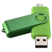5 x Micro-USB Flash Drive Memory Stick OTG for Mobile Phone PC Green