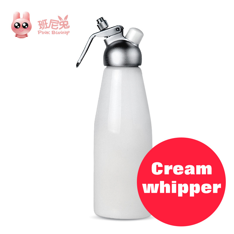 Whipped Cream Dispenser Whipper Metal Siphon Dessert tools high quality durable stainless steel Whipped Cream Dispenser hotsell