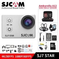 Оригинальный SJCAM sj7 star 4 К 30fps Ultra HD Wi Fi действие Камера велосипед Камера 2.0 Сенсорный экран дистанционного мини видеокамера камара Deportes