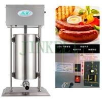 18 Бесплатная доставка воздуха Электрический 20L, 25L автоматическая машина для приготовления колбасы 110/220 V прибор для набивки сосисок
