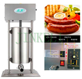 18 free air ship electric 20L,25L automatic stainless steel sausage filling machine 110/220V Sausage stuffer machine