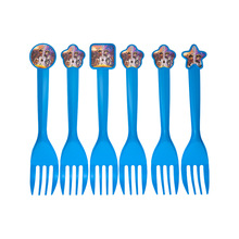 12pcs coco theme fork knive spoon for kids birthday party supply Tableset decoration