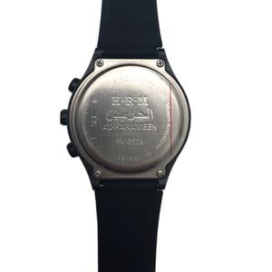 Image 4 - 1 sztuk/partia muzułmański automatyczny Fajr zegarek z budzikiem HA 6506