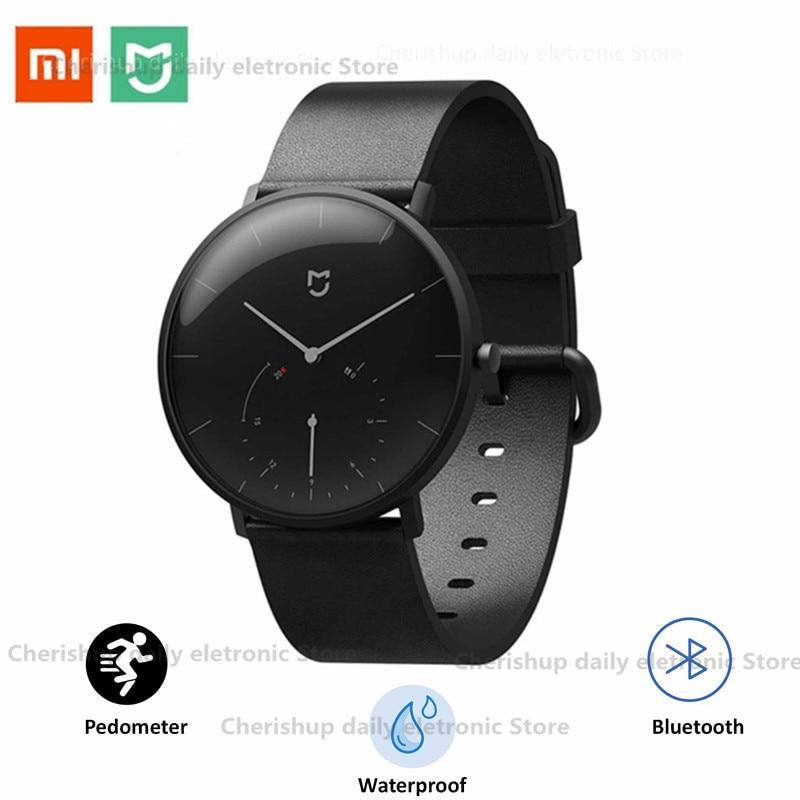 Neue! Xiaomi Mijia Quarz Smart Uhr BT IP67 Wasserdichte Mechanische SmartWatch Schrittzähler Intelligente Erinnerung Für Android IOS