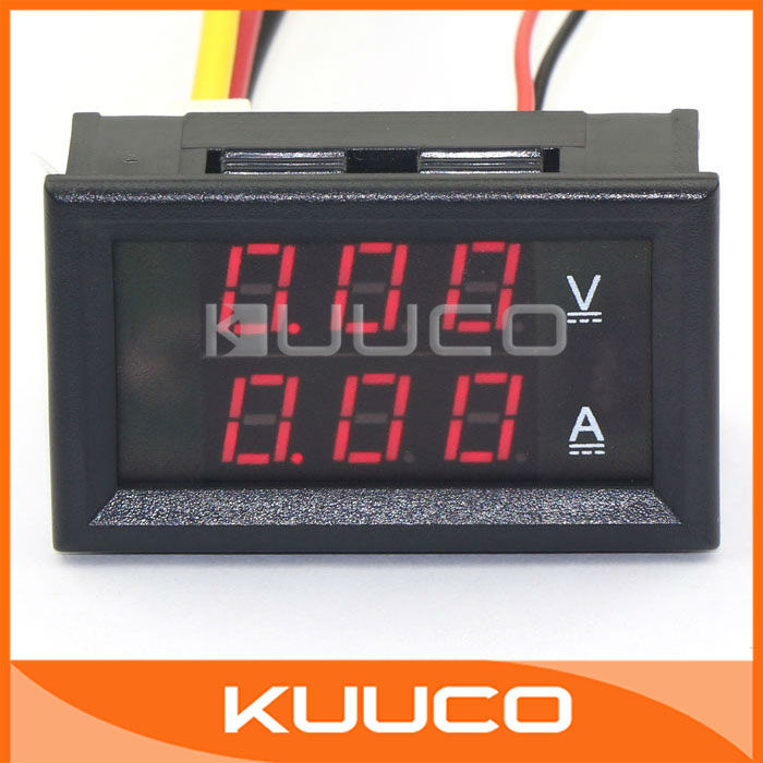 Digital Voltmeter Kit : Aliexpress buy yb va digital volt ammeter