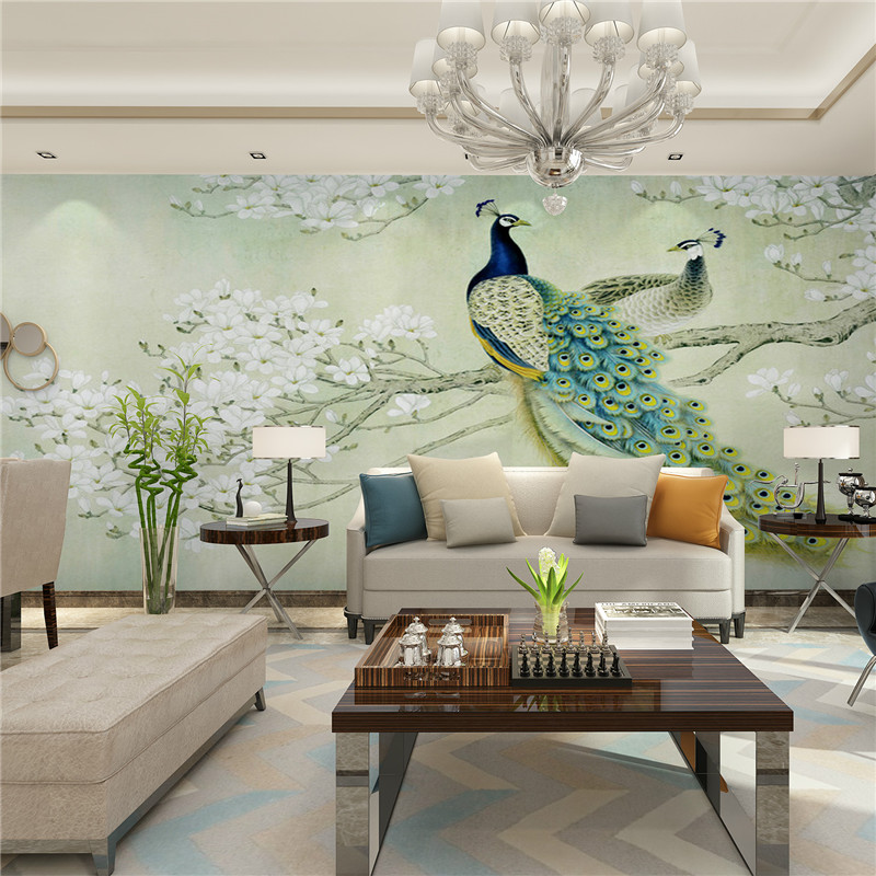 Modern Art Painting Chinese Living Room Bedroom TV