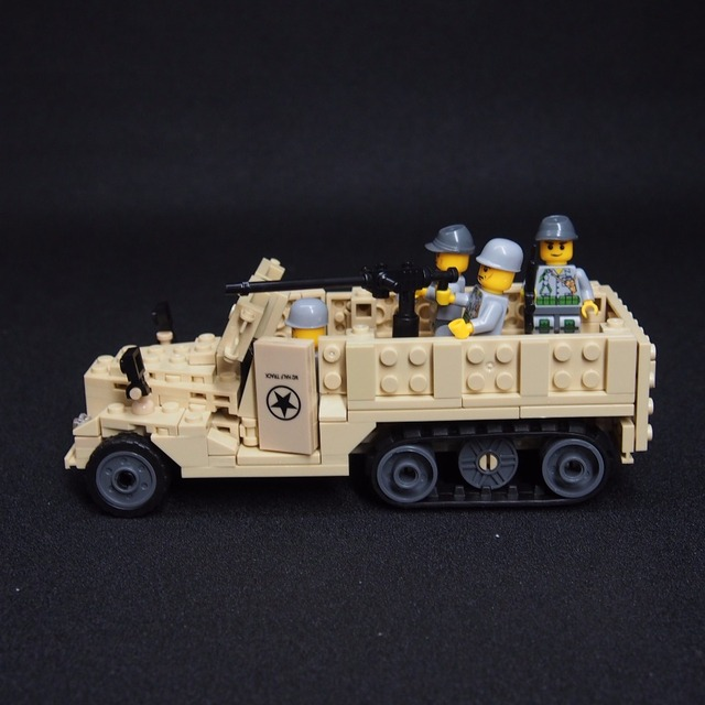 MOC WW2 Military weapon Armored personnel carriers  tanks vehicles building blocks brick Soviet Union Germany Army weapon