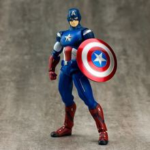 2016 NEW Captain America Anime Figure Figma 226 15cm heroes figures PVC Action Figure Collection Model Toy Gift 0023