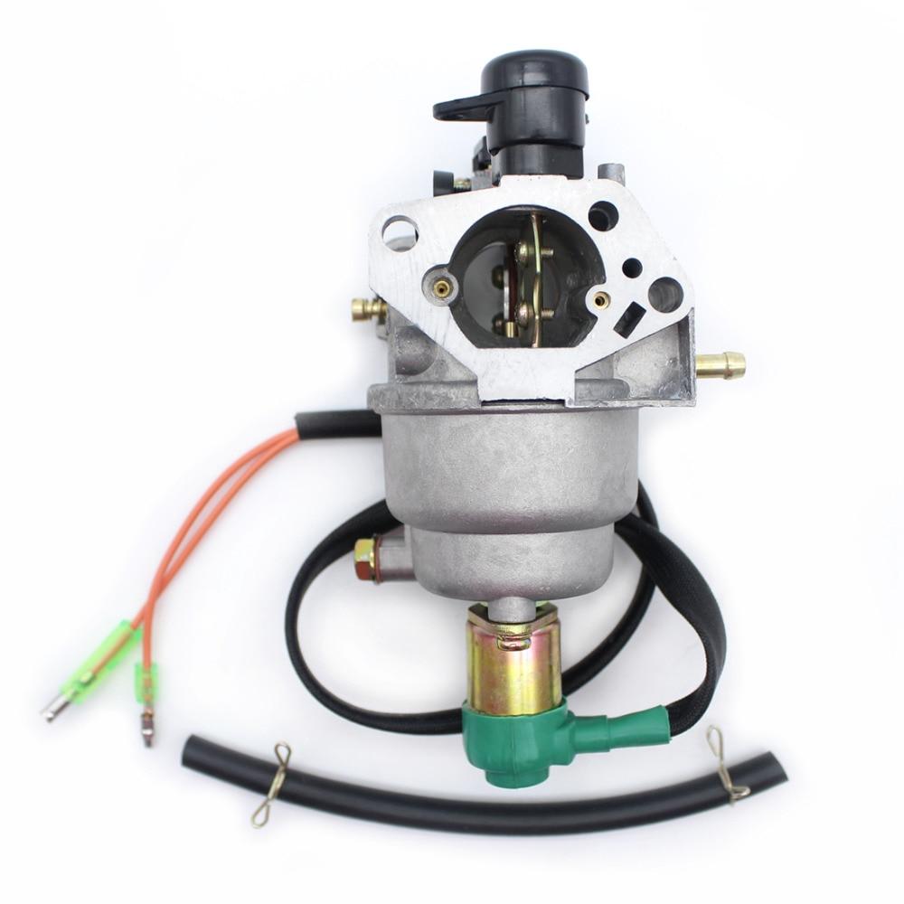 Gas Motor AUTO Engine GX390 HONDA For Generators 5KW 188F Generator GX340 389CC EC6500 CHOKE Carburetor