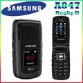100% original desbloqueado samsung a847 1300 mah 2mp 2.2 '3g gsm teléfono celular con el francés español portugués inglés sólo envío gratis