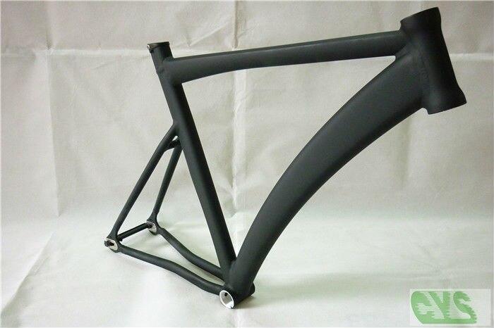 aliexpresscom buy high quality lb727 cycling fixie fixed gear road racing bicycle track bike frame alloy aluminum 545658cm matt black green from