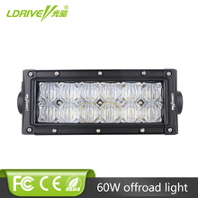 цена на LDRIVE 7'' 60W 5D LED Work Light Bar Offroad Auto Car Motorcycle SUV ATV UTE 4WD 4X4 Truck AWD Van Camper Pickup LED Headlight