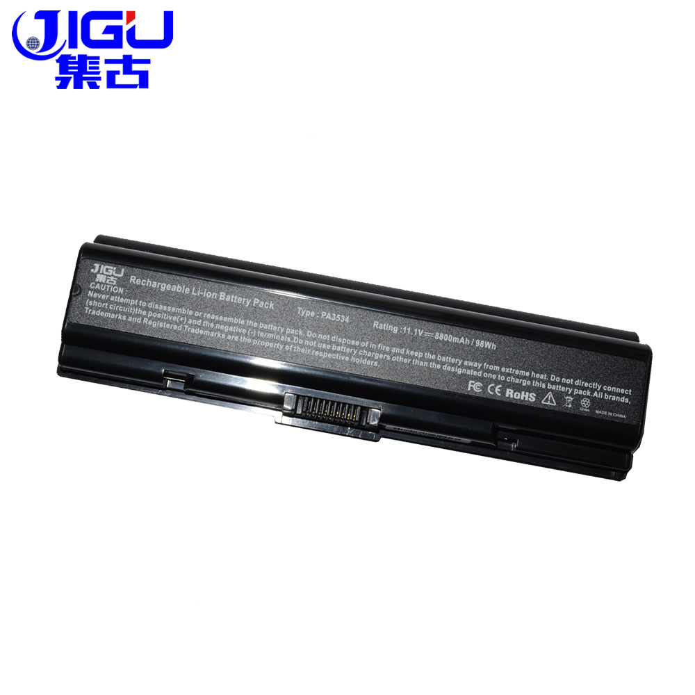 JIGU Laptop <font><b>Battery</b></font> FOR <font><b>Toshiba</b></font> <font><b>Satellite</b></font> Pro A300D L300 L300D <font><b>L350</b></font> L450 L500 L500D A210 L550 A300 image