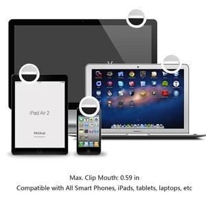 Image 4 - ใหม่มาถึง USB Selfie แบบพกพาแฟลช Led กล้องถ่ายภาพการถ่ายภาพแหวนแสงเพิ่มการถ่ายภาพสำหรับ iPhone สมาร์ทโฟน