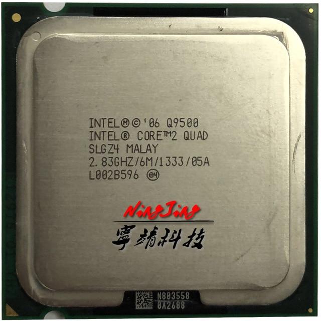 Intel Core 2 Quad Q9500 2.8 GHz Quad-Core CPU Processor 6M 95W LGA 775