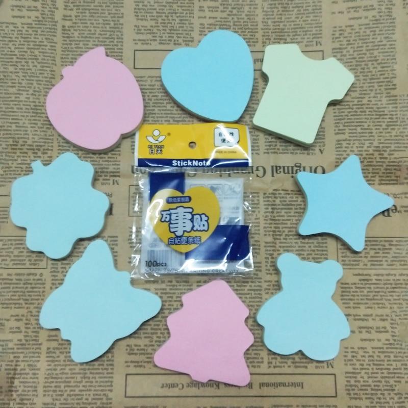 Skrivbordsunderlägg för söt regnbåge färgglada klistermärkear - Block och anteckningsböcker - Foto 2