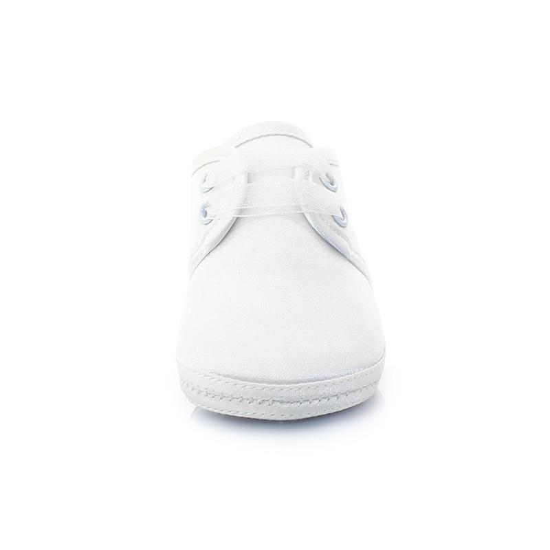 575649dec7f Santo blanco púrpura bebé Christen & bautismo Zapatos antideslizante suela  blanda Zapatos de bebé para el bebé recién nacido Primeros pasos en  Primeros ...