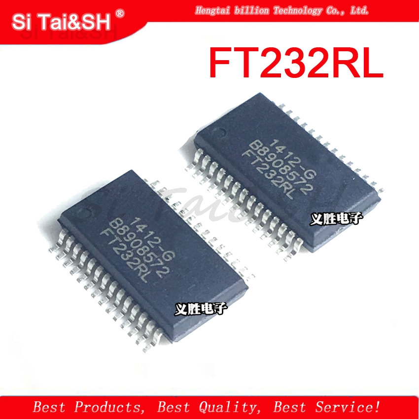 1PCS original SSOP-28 FT232RL FT232 FT232R USB TO RS232 UART