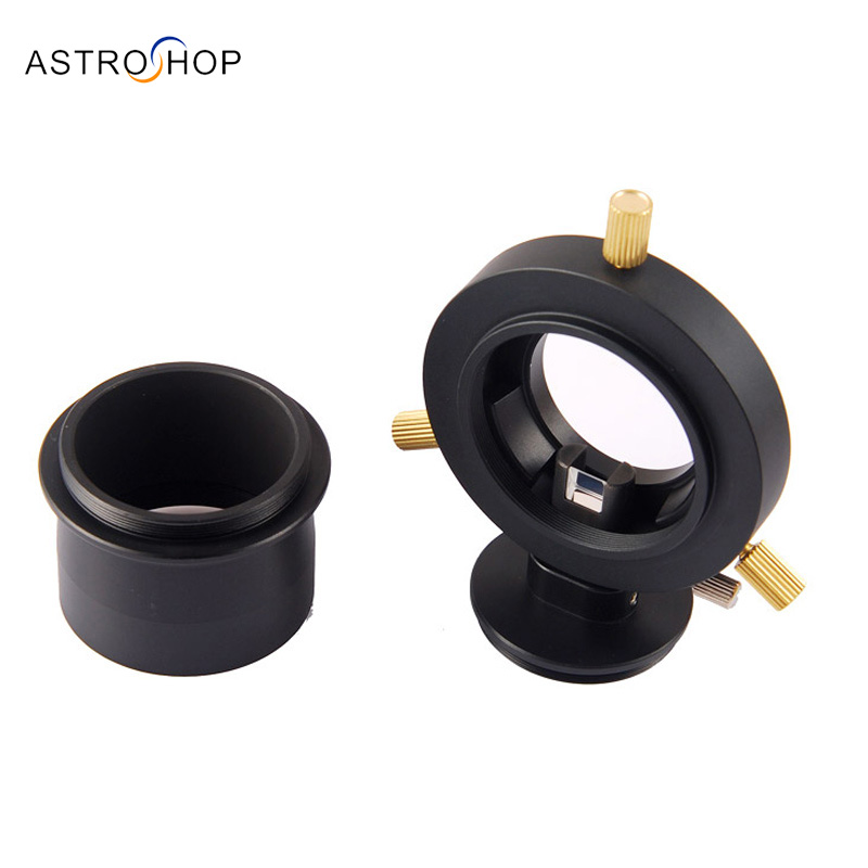 Off-Axis Guider for Astrophotography  with free 2 inch to M48  adapter qhy5l ii c imager guider cameras with free a 8mm cctv lens