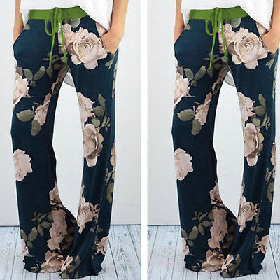 Womens Casual Jogger Dance Harem   Pants   Baggy Slacks Trousers Sweatpants Ladies Women Print Floral   Pant     Capris