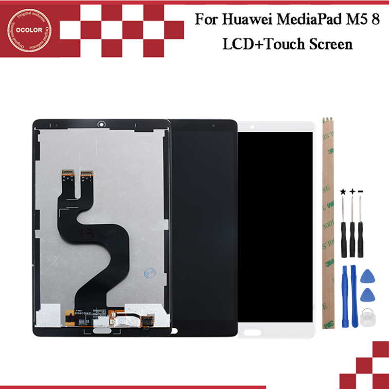 ocolor For Huawei MediaPad M5 8 LCD Display And Touch Screen100 New Tested Phone Accessories With