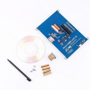 Image 4 - 1pc 800*480 5 인치 HDMI 터치 스크린 디스플레이 TFT LCD 패널 모듈 범용 모든 라즈베리 파이 디스플레이 800x480 HDMI 모니터