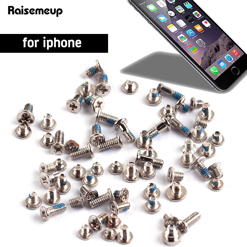Screws Full Screw Set For IPhone 6 6s 6plus 4 4S 5 5S 5C Repair Bolt Complete Kit Replacement Parts Screws Fix Phone Accessories