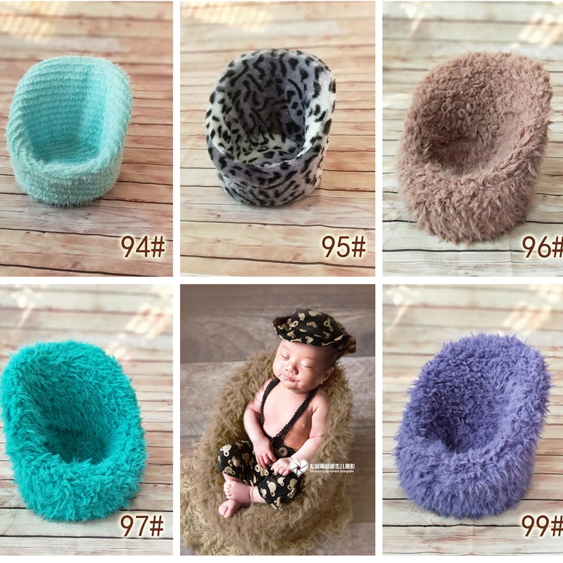 Mini Sofa For Newborn Bebe Photography Props Posing Chair Decoration Fotografia Accessories Infantil Baby Studio Shooting PropY