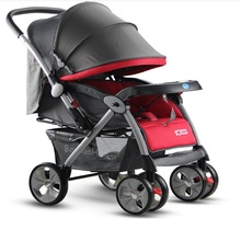BBH 360 degree protection two-way promotion shocking proof wheels large baby stroller