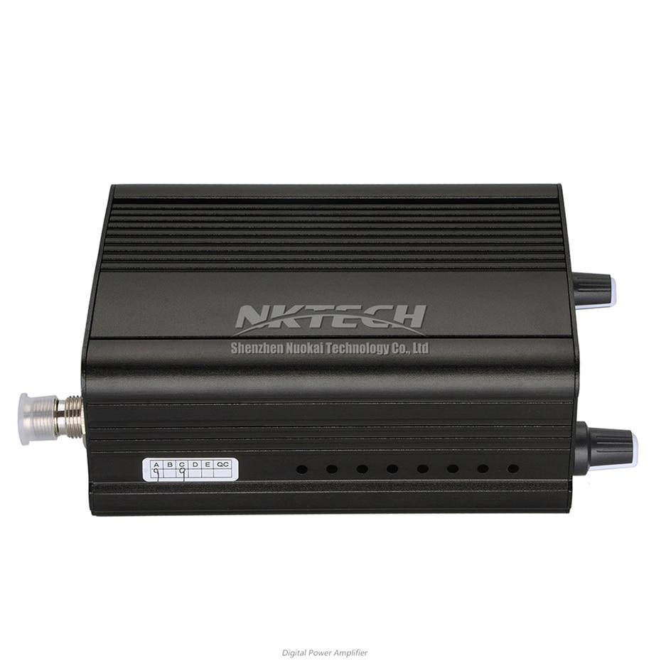 NKTECH CZE-7C PLL FM émetteur Radio Station de diffusion 1 W/7 W stéréo fréquence 76-108Mhz Pro Campus amplificateurs LCD rétro-éclairage - 4