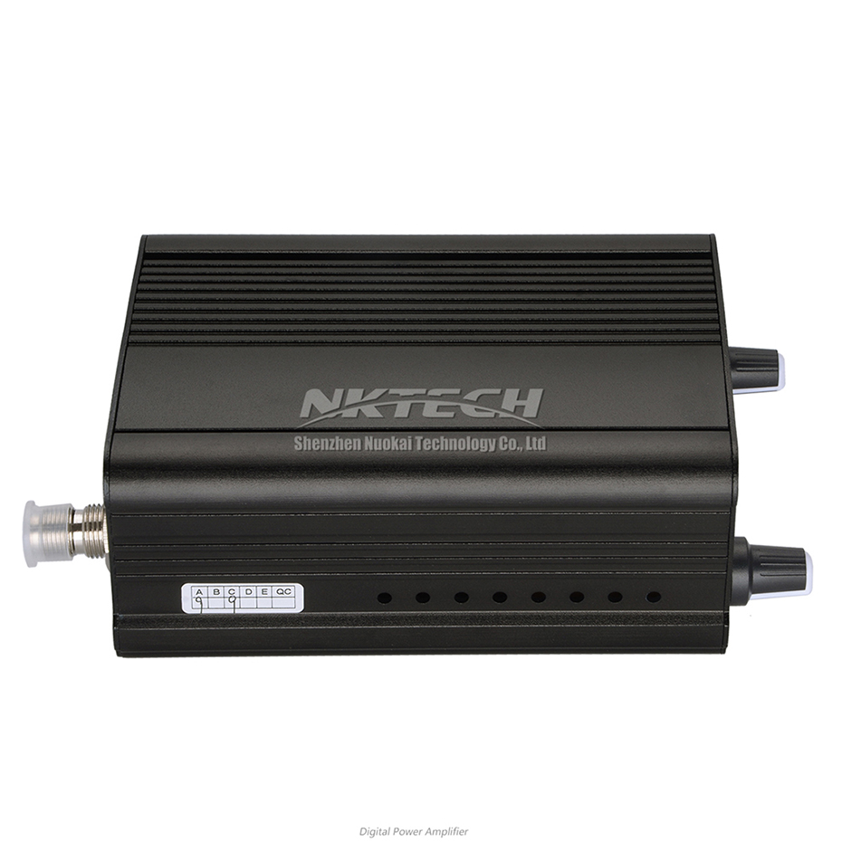 NKTECH CZE-7C PLL FM Transmisor de Radio en la estación de transmisión 1 W/7 W ESTÉREO frecuencia 76-108Mhz Pro retroiluminación LCD de amplificadores de campo - 4