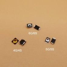 100 шт./лот для Apple iPhone 4G 4S 5 5C 5S 6G 6s микро мини переключатель вкл/выкл кнопка питания Кнопки громкости встроенный шрапнель ключ